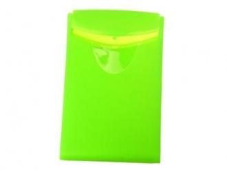 Кутия за визитки Han зелена