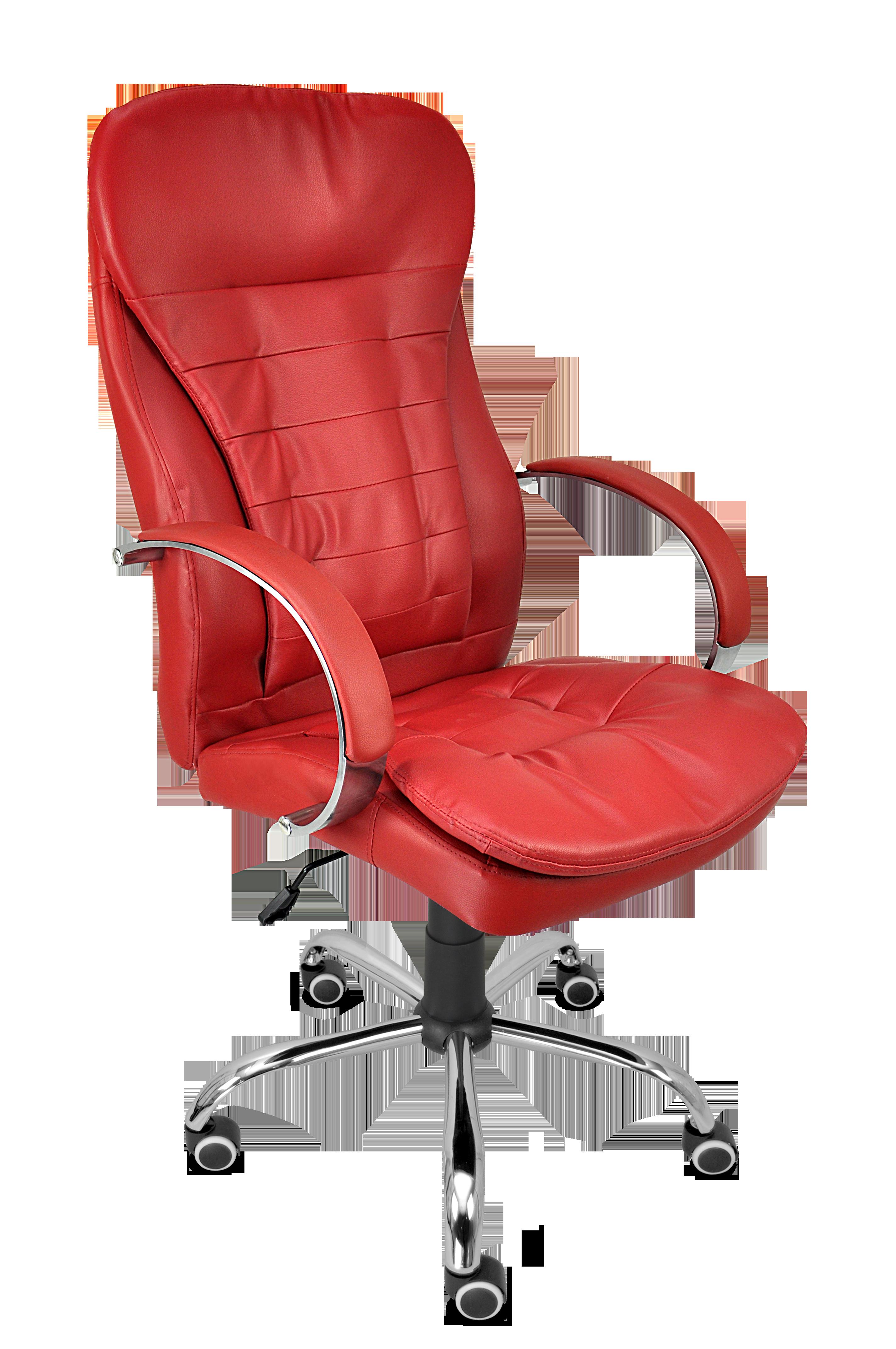 Директорски стол Aspire червен