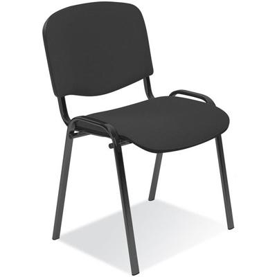 Посетителски стол ISO черен