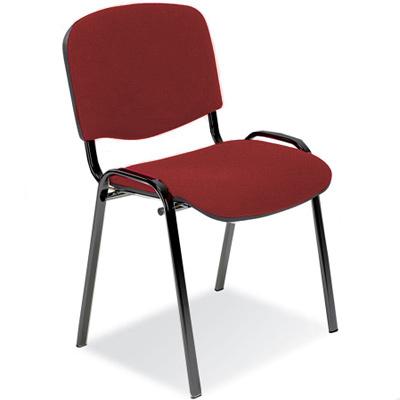 Посетителски стол ISO бордо