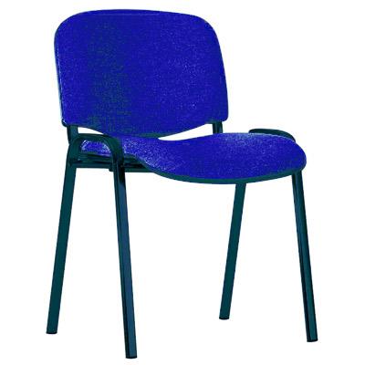 Посетителски стол ISO син