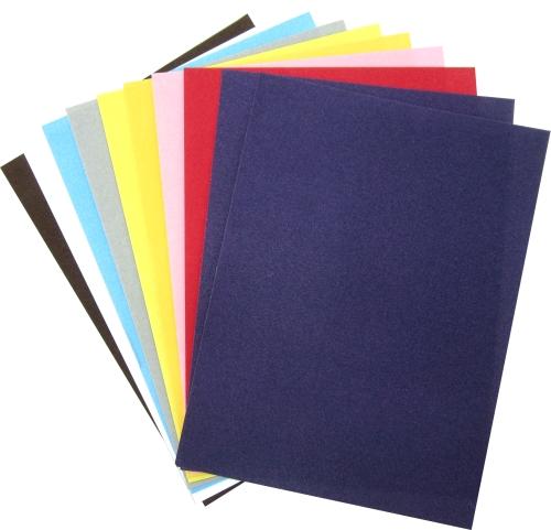 Велурено блокче А5 10листа в различни цветове
