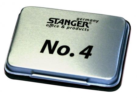 Тампон за печат Stanger N4 черен