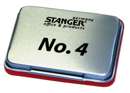 Тампон за печат Stanger N4 червен