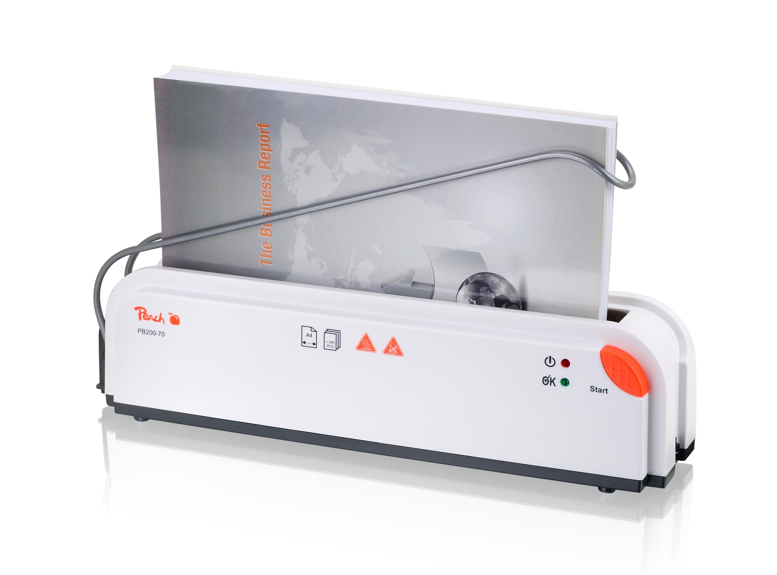 Подвързваща машина Peach - термична PB200-70