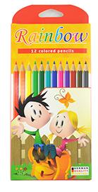 Цветни моливи Rainbow 12 цвята