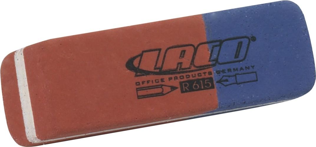 Гума LACO правоъгълна за молив и за химикал R615