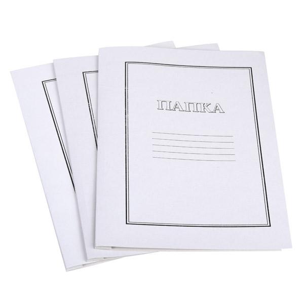 картонена папка А4 с машинка бяла