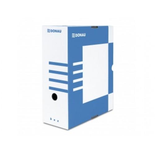 Архивна кутия Donau 339/297/80мм. в цвят син