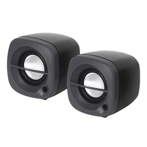 Тонколони OMEGA SPEAKERS 2.0 OG-15 6W BLACK/ЧЕРНИ USB