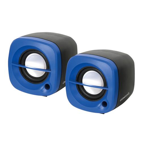 Тонколони OMEGA SPEAKERS 2.0 OG-15 6W BLUE/СИНИ  USB
