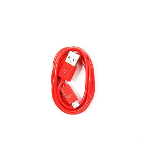 Кабел OMEGA BAJA PVC MICRO USB TO USB & DATA POLY CABLE 1M RED/червен