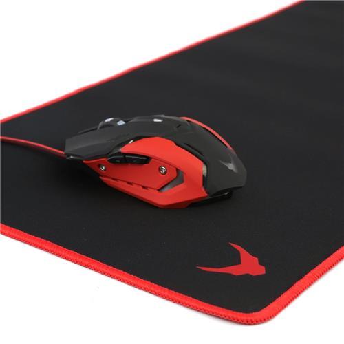 КОМПЛЕКТ Мишка Omega Varr MP-X2 800 - 3200 DPI  геймърска + геймърски пад за мишка Omega