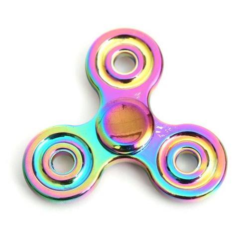 Спинър Omega метален разноцветен