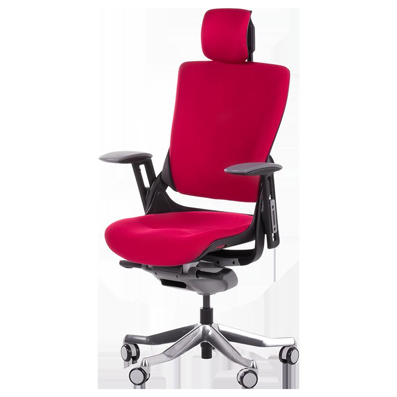 Президентски стол Carmen BRUNO до 130кг. дамаска червен