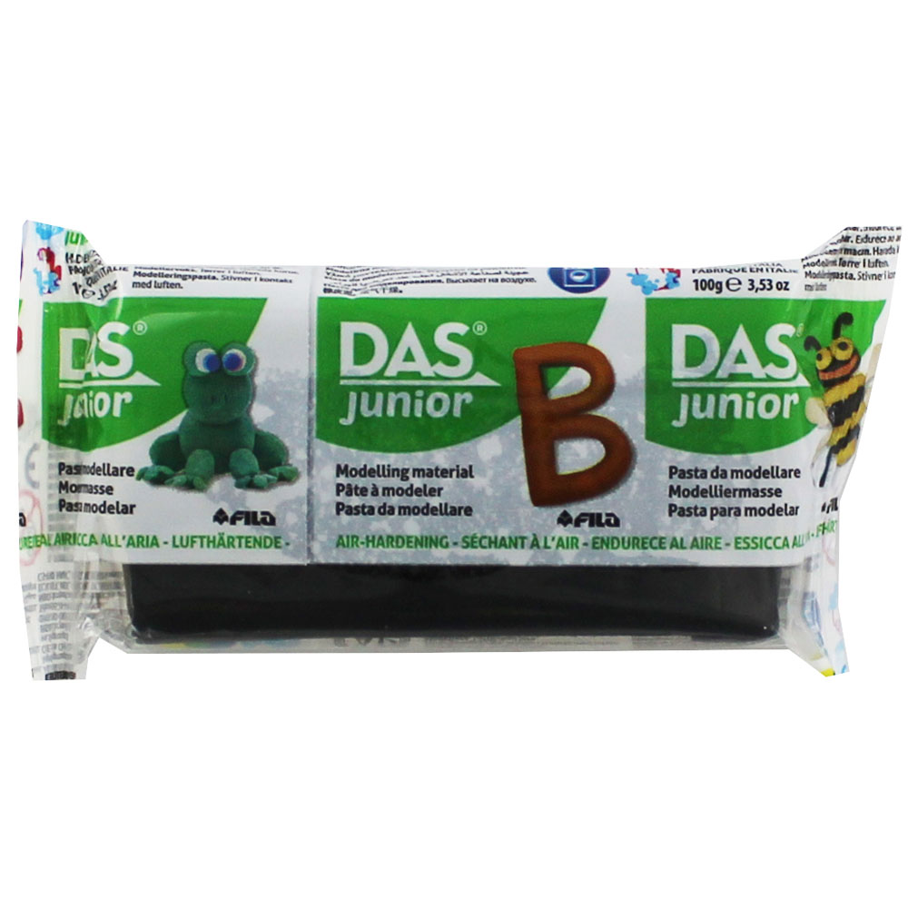Глина Das Junior 100 гр. черна