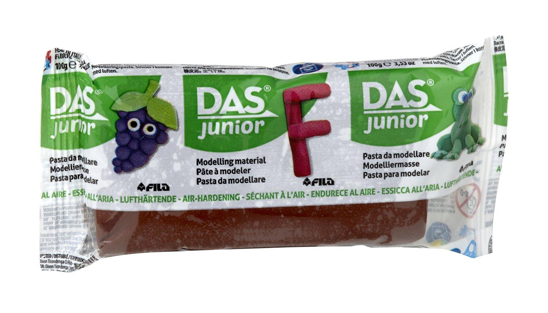 Глина Das Junior 100 гр. кафява