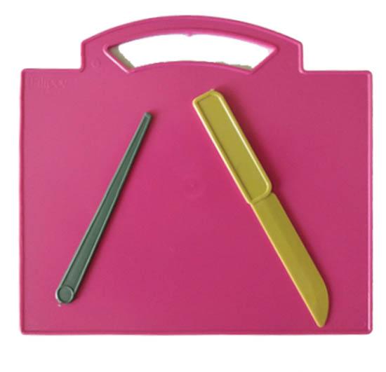 Дъска за пластилин с ножче