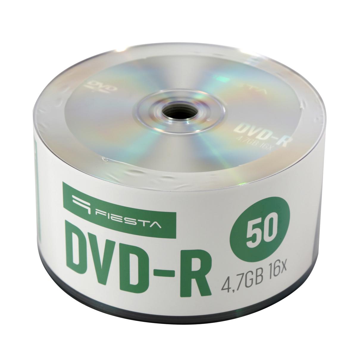 DVD-R Fiesta 4,7 GB  16X SP оп. 50 бр.