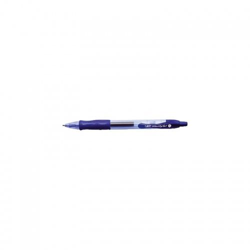 Автоматична гел химикалка Bic Gelocity син