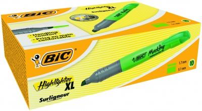 Текстмаркер Bic Brite Liner Grip XL зелен