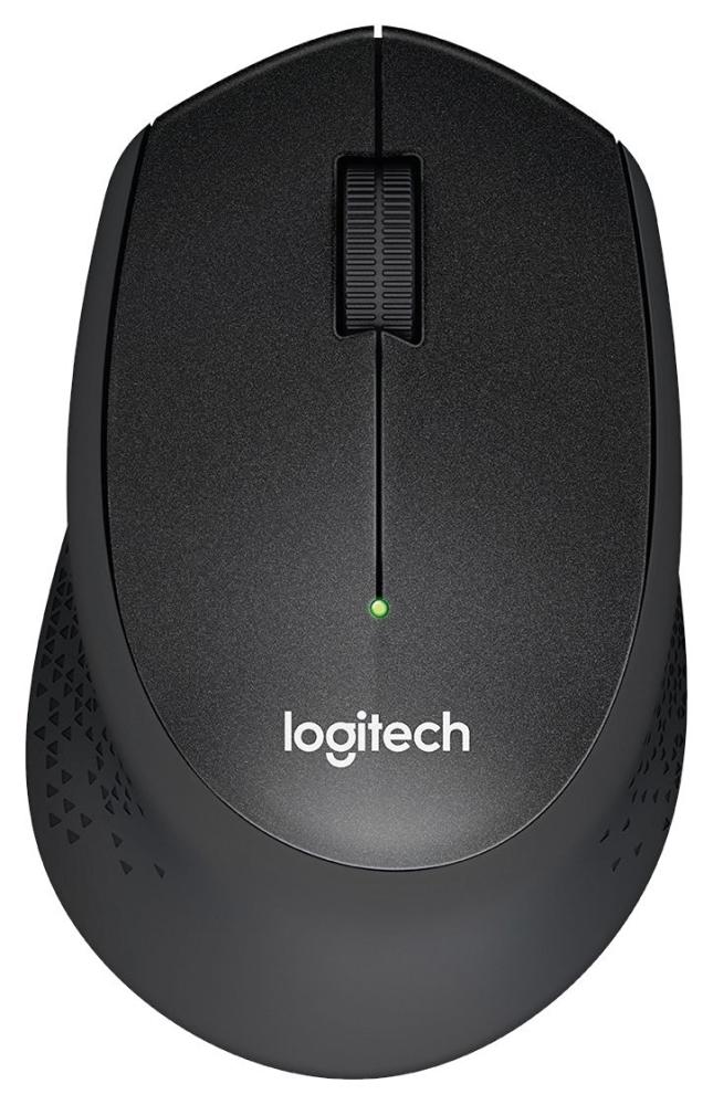 Безжична компютърна мишка Logitech M 330 Silent Plus черна