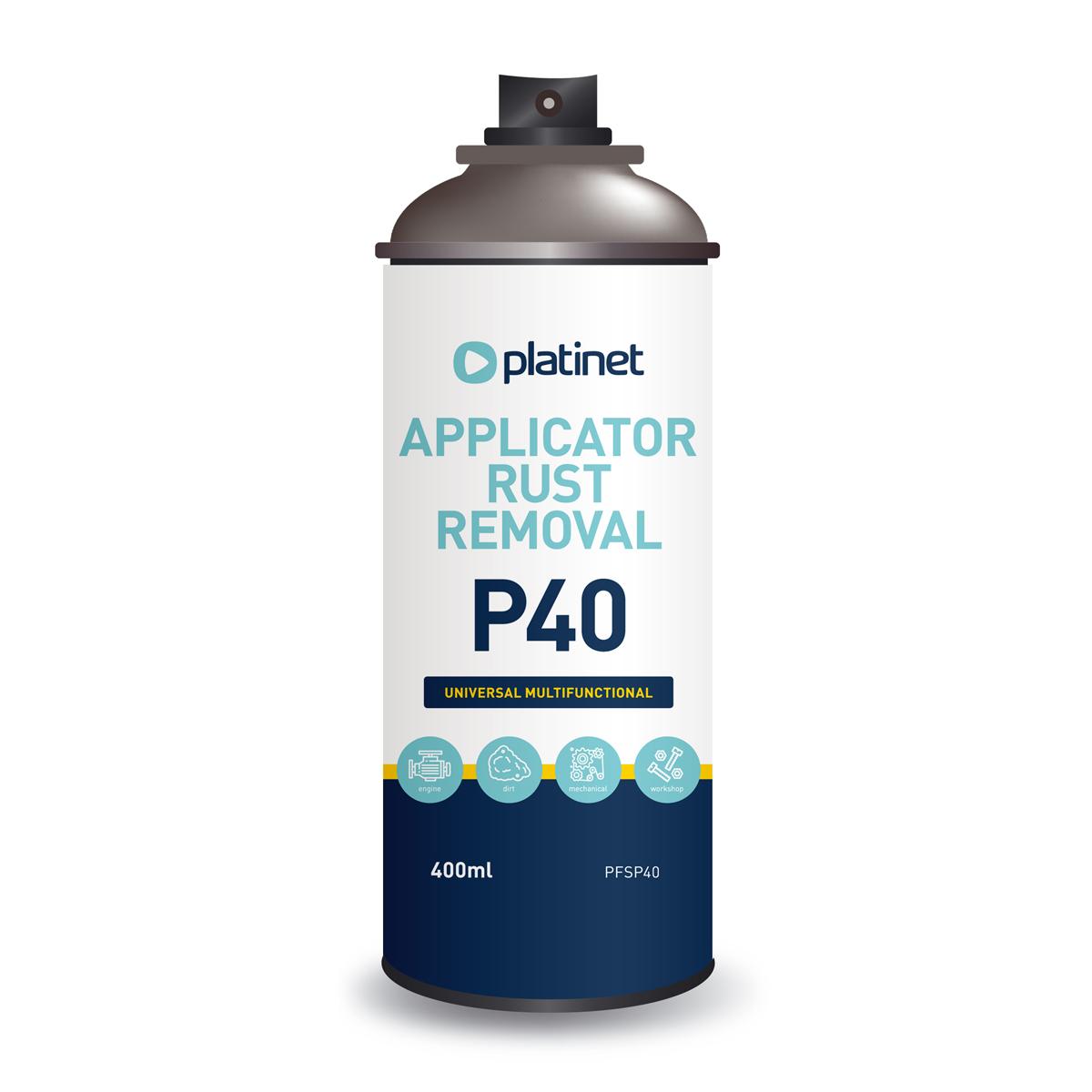 Мултифункционален спрей за премахване на ръжда и защита от корозия Platinet P40
