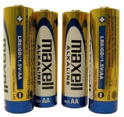 Алкални батерии Maxell R06/AA 1,5V  оп.4 бр.