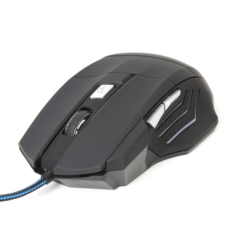 Мишка Omega Varr OM-268 геймърска до 3200dpi 6D черна