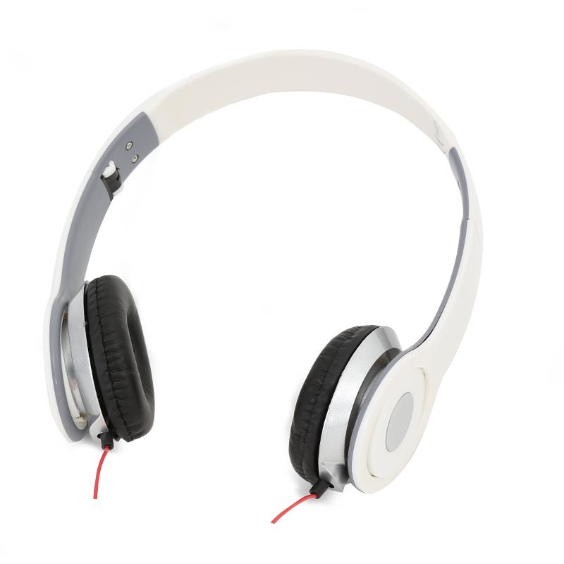 Freestyle стерео слушалки с микрофон FH-4007 бели