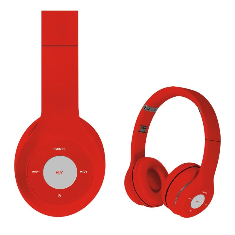 Freestyle Bluetooth слушалки FH-0915 червено/червено