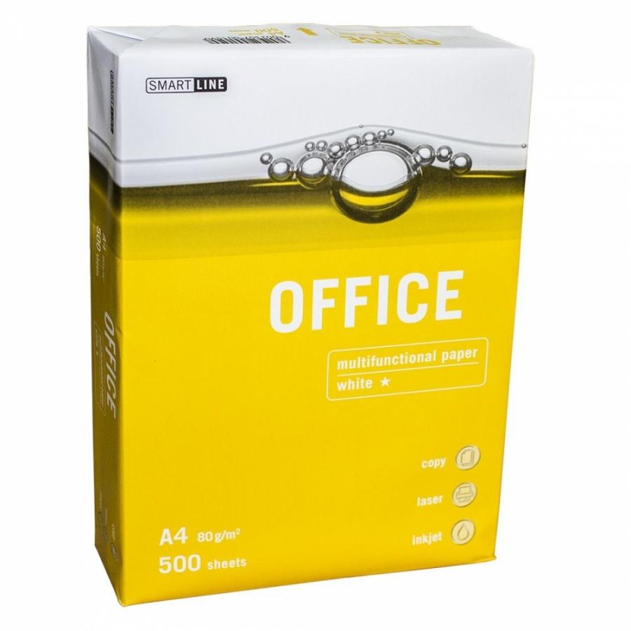 Копирна хартия Office A4 80гр. 500л.