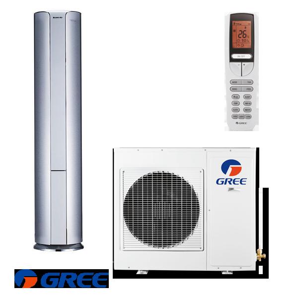 Инверторен колонен климатик Gree GVH24AK / K3DNC8A