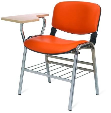 Стол с фиксирана маса за писане и кош за книги Deste K403