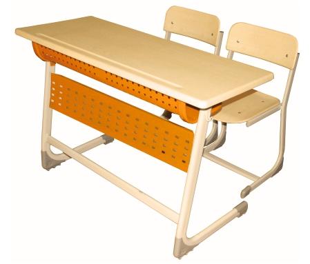 Двойно училищно бюро с вътрешен панел, Инчи, Модел D103