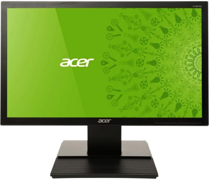 """Монитор LED Acer 18.5"""", Wide, Черен,"""