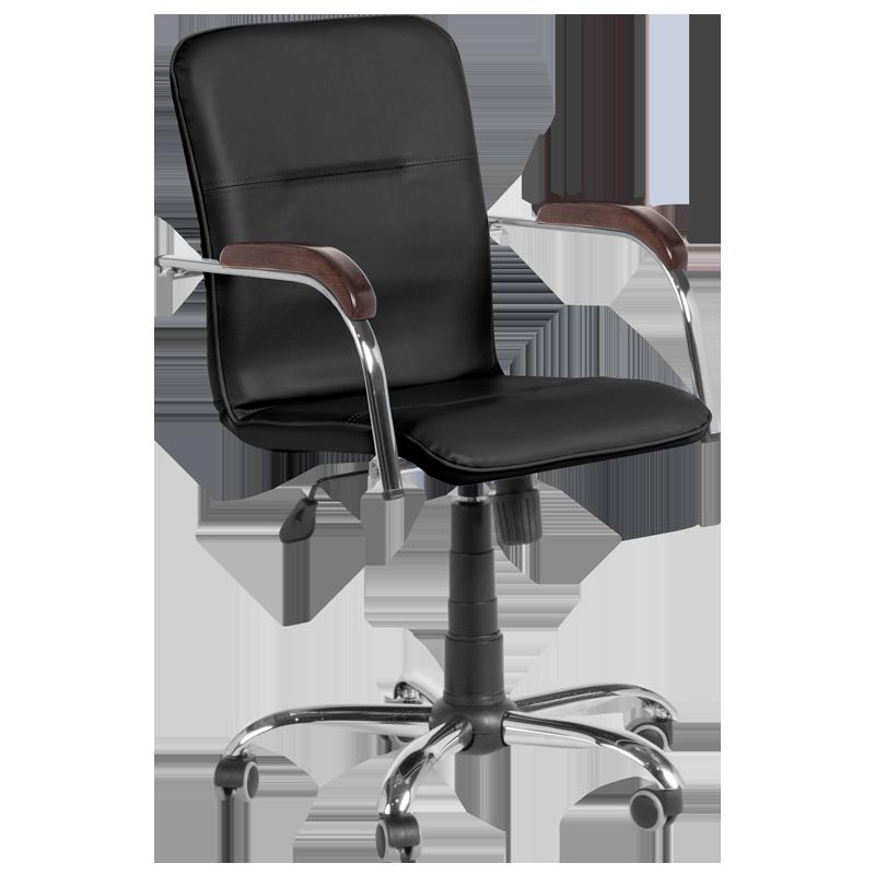 Работен офис стол SAMBA RC D - черен SC