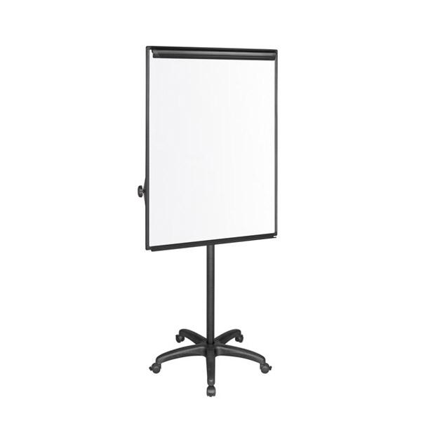 Флипчарт Bi-Office Classic-Немагнитен, с две подвижни рамена и колелца, 70x100 cm Черен