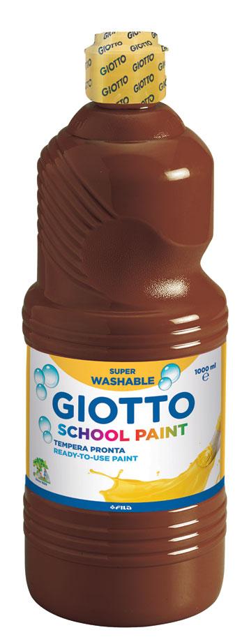 Темперна боя Giotto school paint 1л., цвят Кафяв