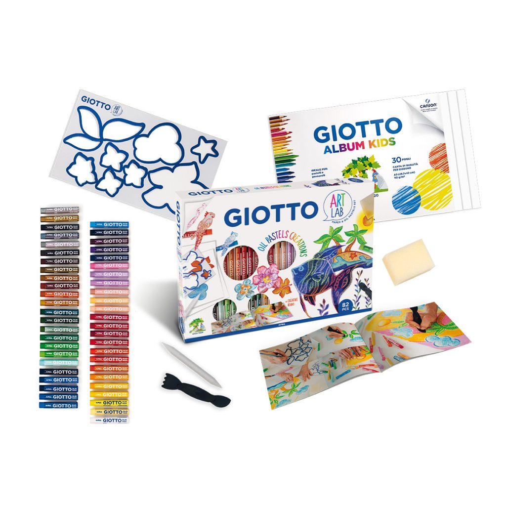 Комплект Giotto Maxi art Lab Oil Pastel Creation