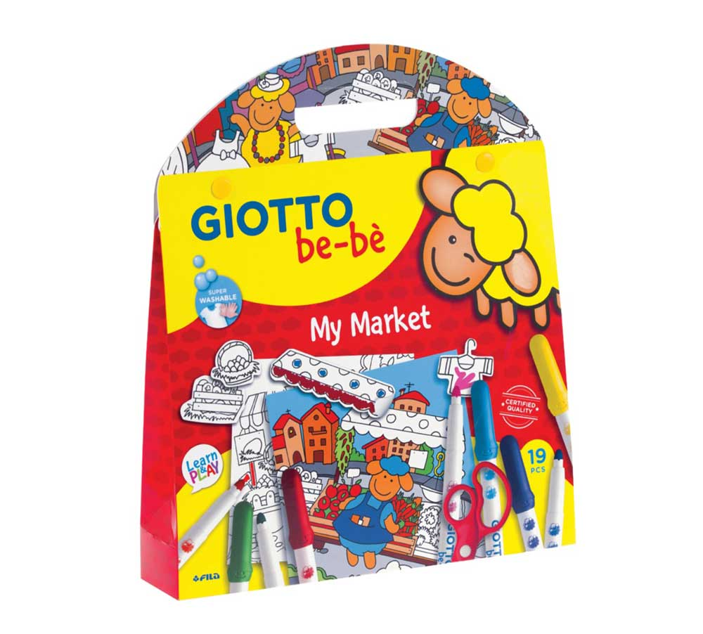 Комплект Giotto Be-Be My Market & My Farm