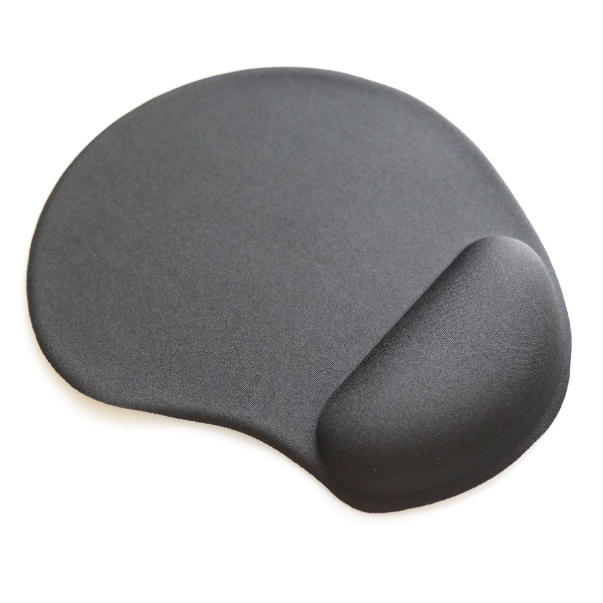 Подложка за мишка ергономична  с гел Omega, цвят  Черен