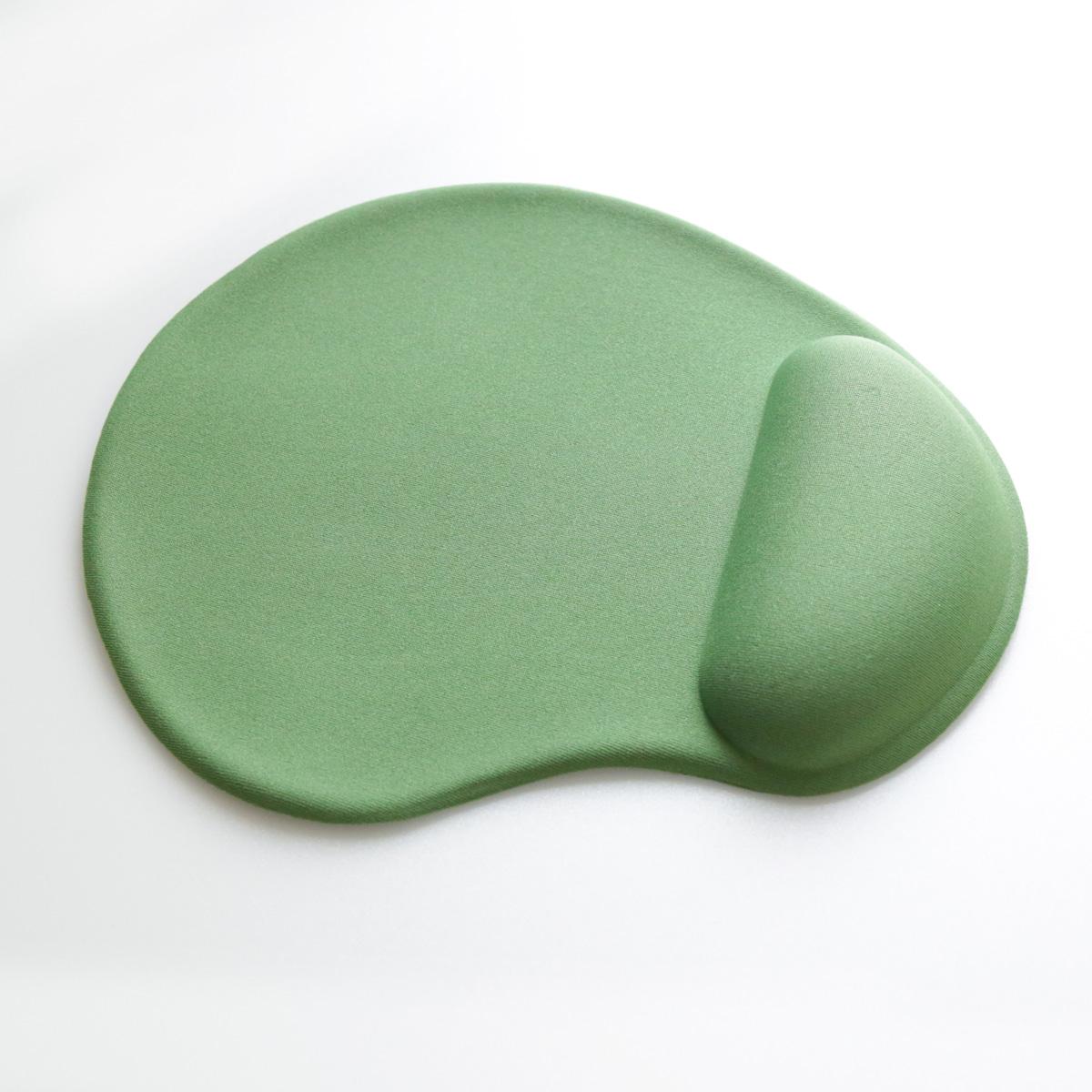 Подложка за мишка ергономична  с гел Omega, цвят Зелен