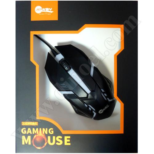 Мишка Jeway M7 геймърска, цвят Черна