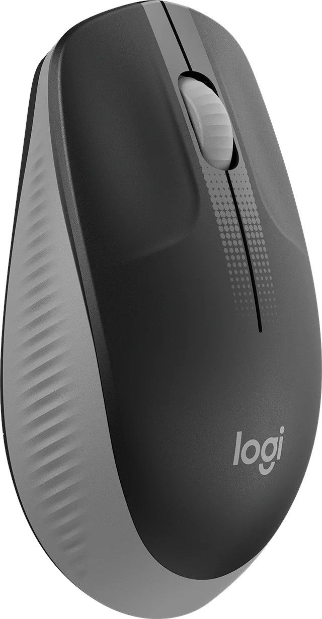 Безжична мишка Logitech - M190, USB, 1000 DPI  Сива