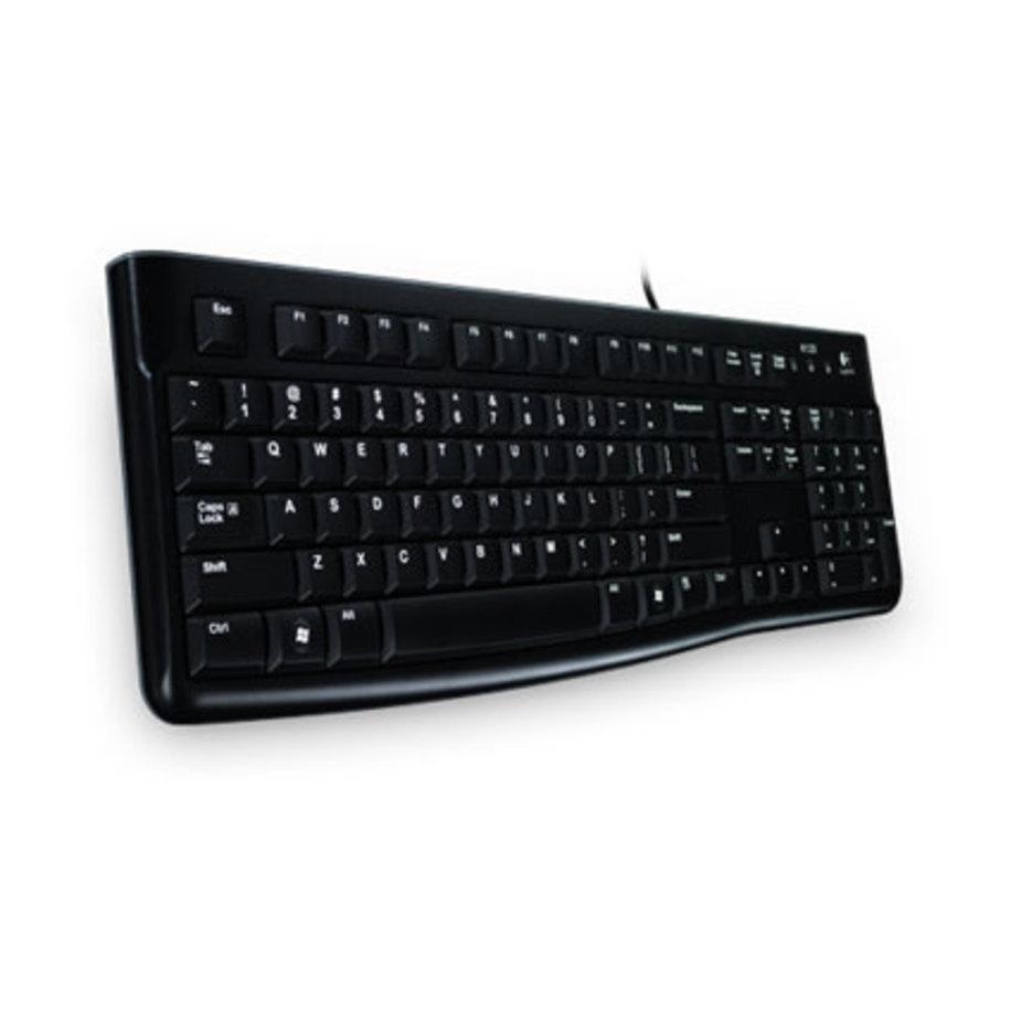 Клавиатура Logitech K120 USB, Черна