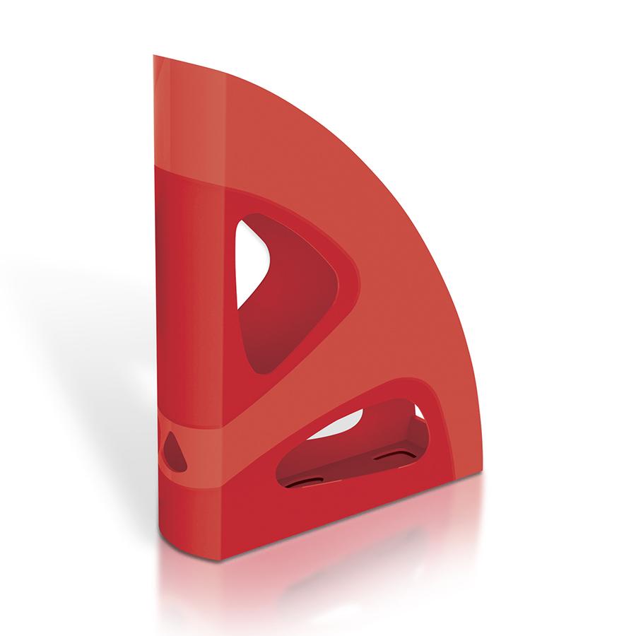 Поставка вертикална MAS, модел 884,  червена