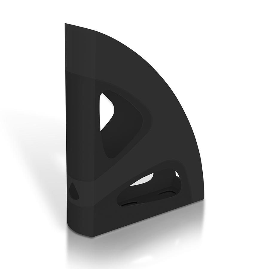 Поставка вертикална MAS, модел 884,  черна