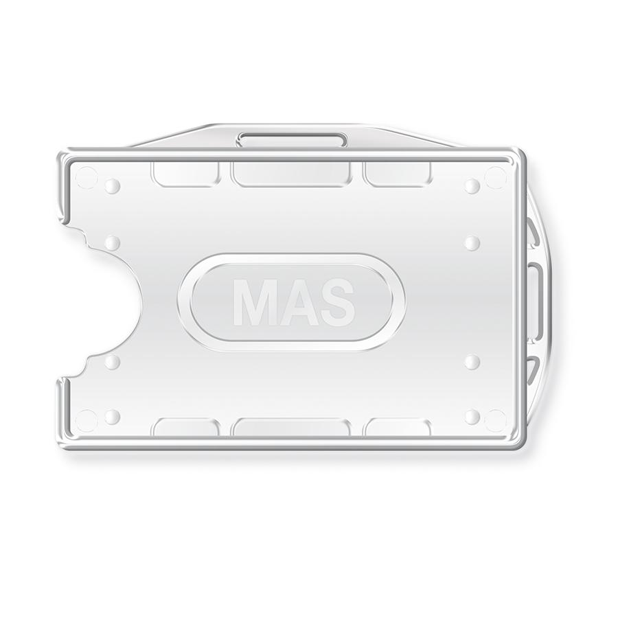 Бадж твърдо пвц двустранен MAS, модел 3524, оп.25