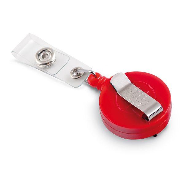 Бадж йо-йо с клипс 32мм MAS, модел 3532, червен